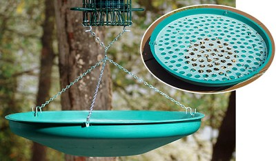 Seed Saucer Bird Seed Catcher Green