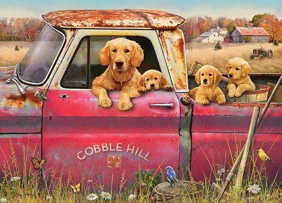 Cobble Hill Farm 1000 Piece Jigsaw Puzzle