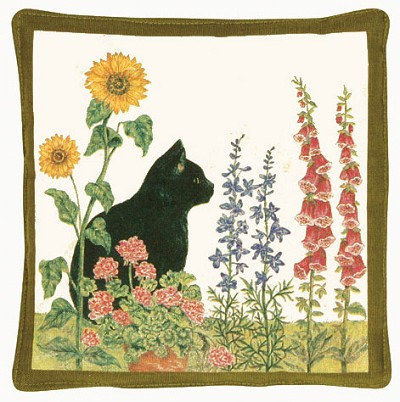 Black Cat Scented Hot Pad