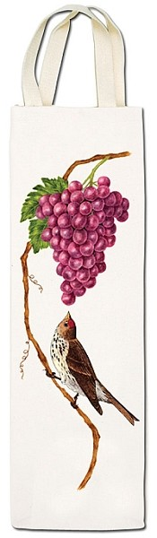 Bird with Grapes Wine Caddy