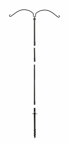 "Achla Birding Pole Kit with Ground Screw 5' 8"" High"