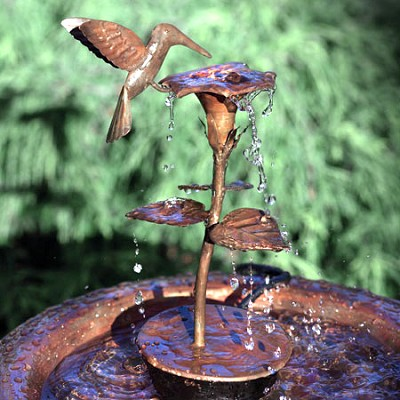 Hummingbird Dripper Fountain