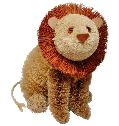Brushart Lion Sitting 8""