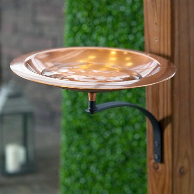 Achla Classic II Birdbath with Mounting Bracket