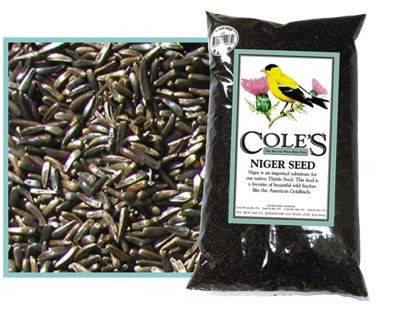 Cole's Niger Bird Seed 10#