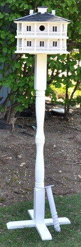 Novelty Pedestal with Auger