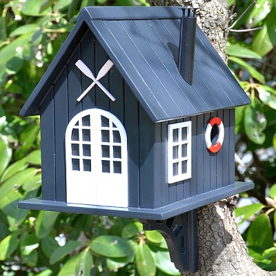 Classic Boat House Birdhouse