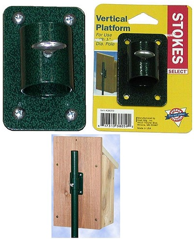 Select Vertical Birdhouse Pole Mount