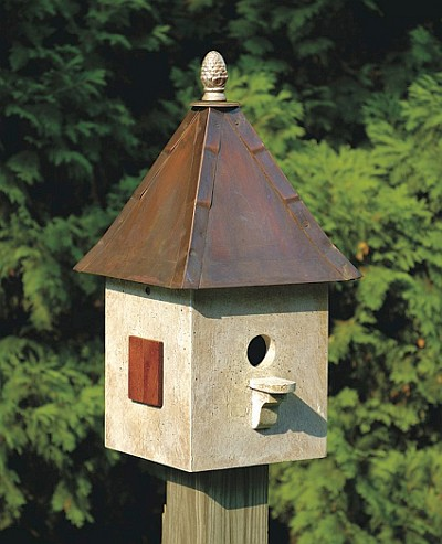 Songbird Suite Bird House Old World Finish