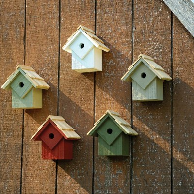 Summer Home Bird House Pack of 5 Traditional