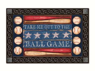 Baseball Season MatMate Doormat
