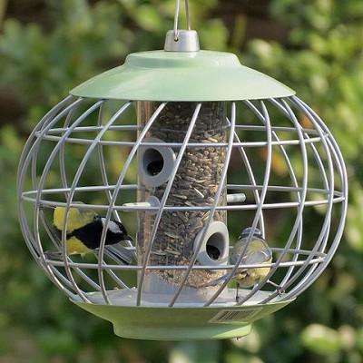 Nuttery Helix Caged Seed Feeder