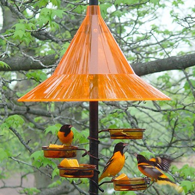 Squirrel Away Pole Baffle Sunset Orange