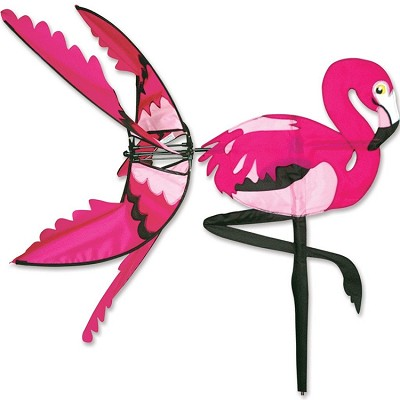 Flying Pink Flamingo Wind Spinner Large