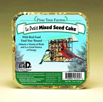 Le Petit Mixed Seed Cake 9 oz 12/Pack