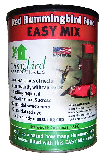 Easy Mix Hummingbird Nectar Red 48 oz