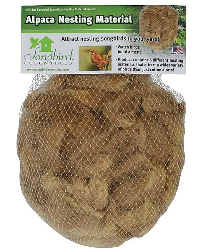 Alpaca Wool Ready-To-Hang Nest Bag 3/Pack