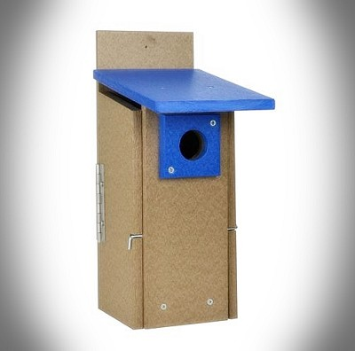 Rubicon Recycled Plastic Ultimate Bluebird House