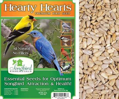 Songbird Essentials Hearty Hearts Bird Seed 5#