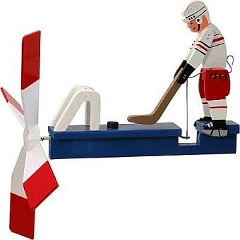 Classic Hockey Player Whirligig